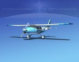 3D Cessna 182 Skylane V10