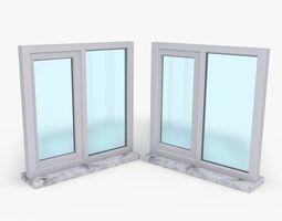 Window Model Low Poly low-poly