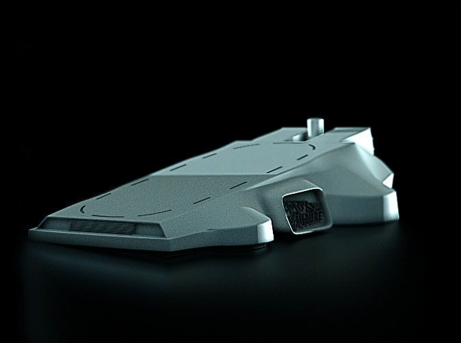 Micro Delorean Pedestal for micromags
