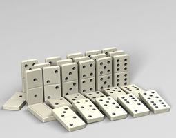 Dominoes 3D model