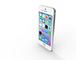 5s iPhone 5S 3D