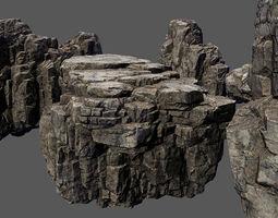 3D asset rocks stones