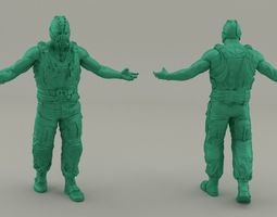 3D printable model Bane - The Dark Knight Rises