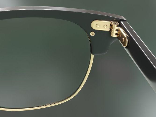 c60a5a67a8 ... rayban clubmaster glasses 3d model 3d model max obj mtl fbx 5 ...