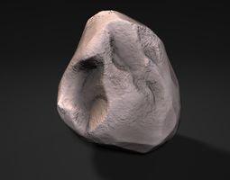 3D asset 2600 Lowpoly Rock