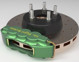 3D Disc Brake