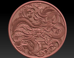 3D printable model Chinese dragon chinese