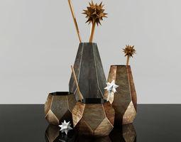 Modern Flower vase 3D