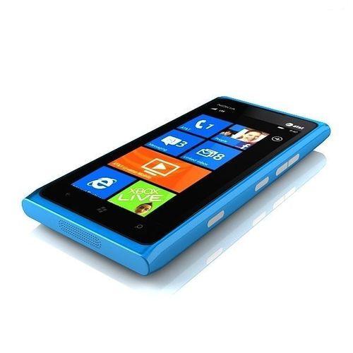 nokia lumia 900 blue 3d model max obj mtl 3ds fbx 1