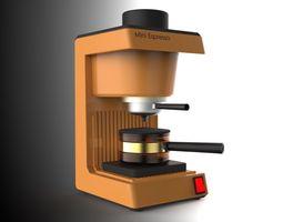 espresso Coffee Machine 3D