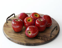 vitamin apples 3D model