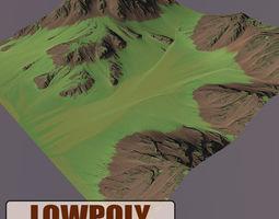 Level Terrain 04 3D model