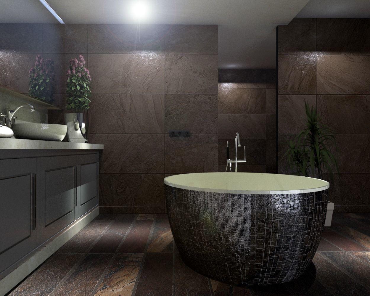 3D model fixture modern bathroom | CGTrader on Bathroom Model  id=41853