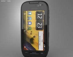 3D asset Nokia 701