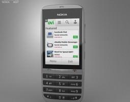 Nokia Asha 300 3D asset