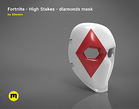 3D print model Fortnite - High Stakes - Wild Card Diamonds
