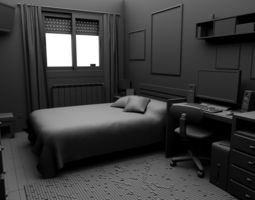 3d model the room