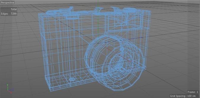reel-camera-3d-model-low-poly-obj-mtl-3d