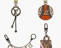 3D model Louis Vuitton Keys holders