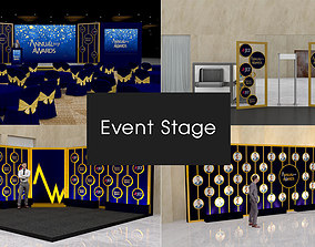 Event stage photo 3D model