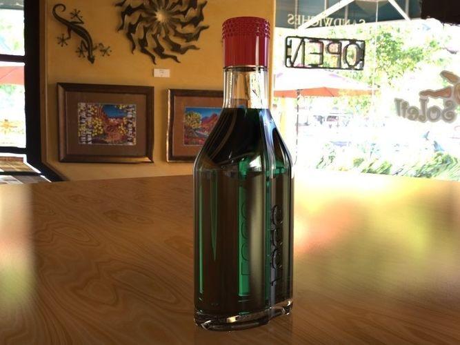 spirit bottle 300ml | 3D model