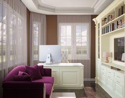 3D model Classic cabinet