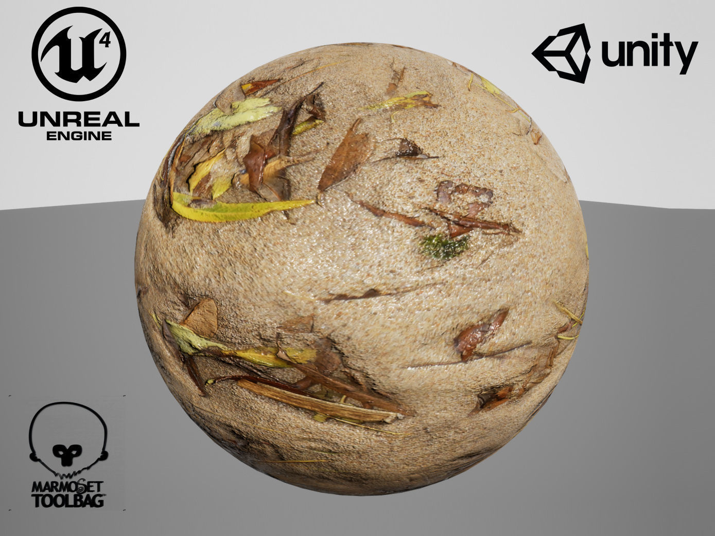 Tiled Sand material Unreal and Unity | Texture