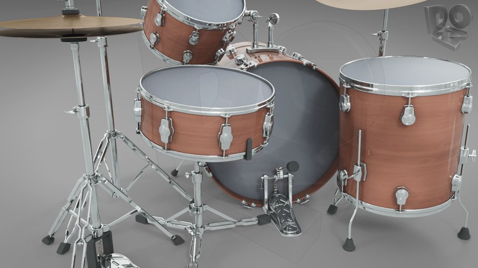 Basic drum set
