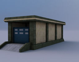 Warehause 01 3D model