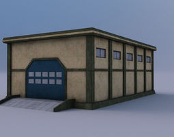 Warehouse 02 3D asset