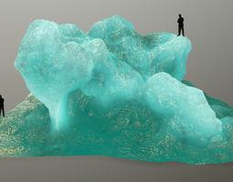 gold ice 3D model