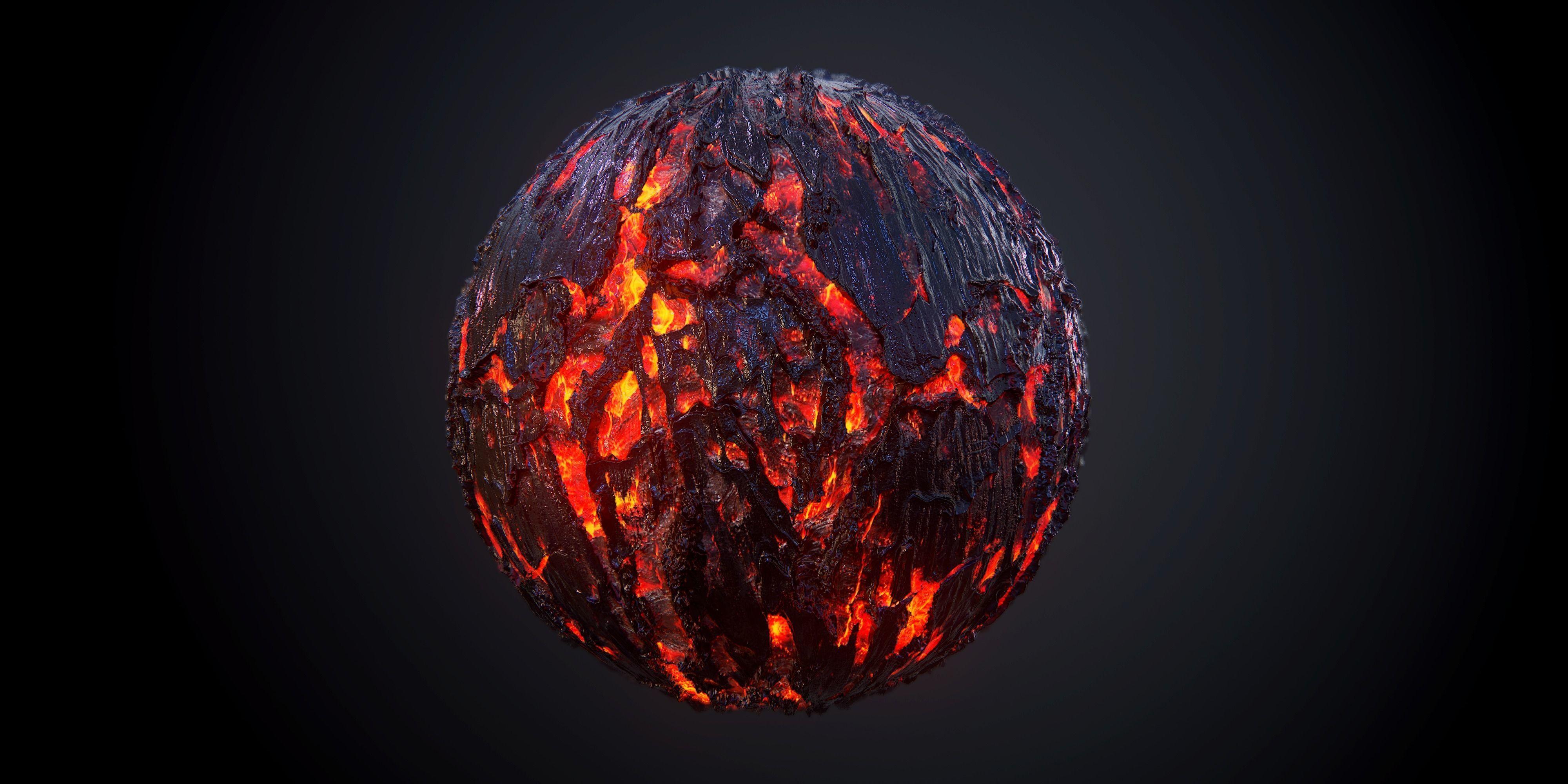 Lava PBR SEAMLESS Texture