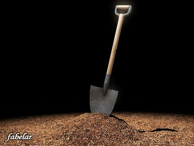 3d model shovel cgtrader for Gardening tools 3d model