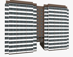 3D Residential House Building Part 6