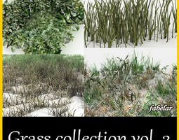 3D model GRASS COLLECTION 2