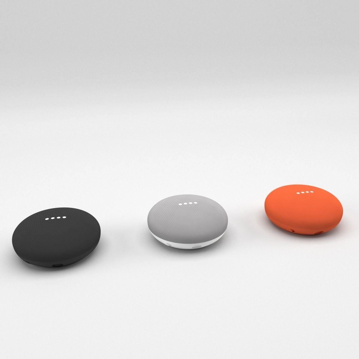 Google Home Mini All Colors