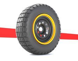 wheel 3d model disk