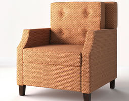 fabric 3D Armchair