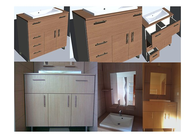 Cabinet For Bathrooms 3d Model Cgtrader