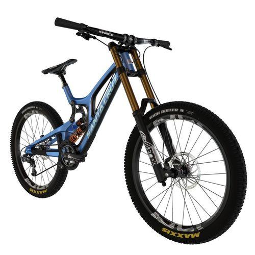 downhill bike 3d model obj mtl fbx blend x3d 1
