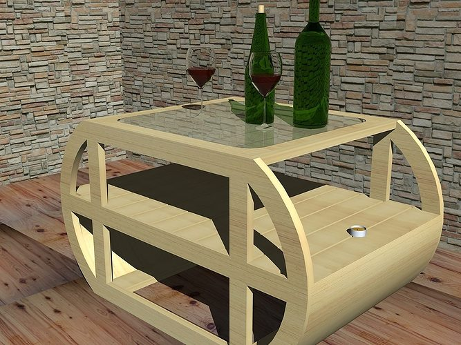 Coffee table design 3d cgtrader for Table design 3d