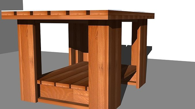 Coffee table design 2 3d model cgtrader for 3d table design