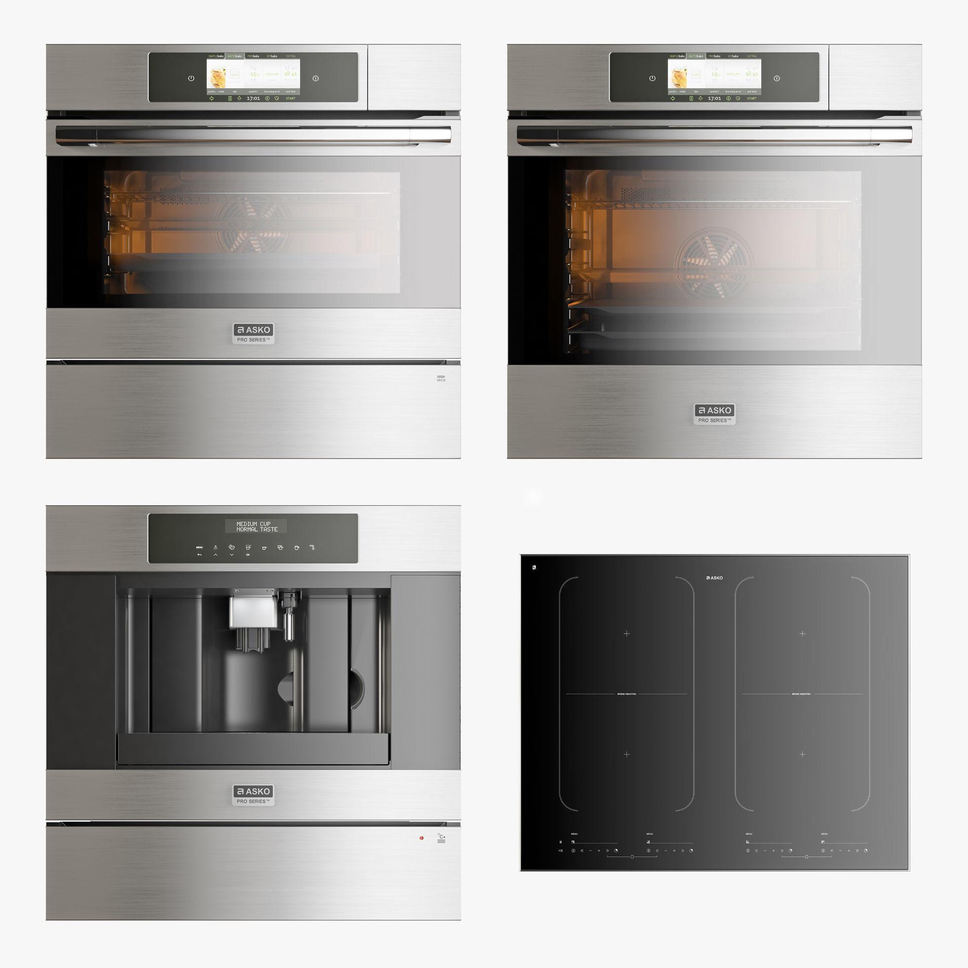 Asko set of kitchen appliances 001