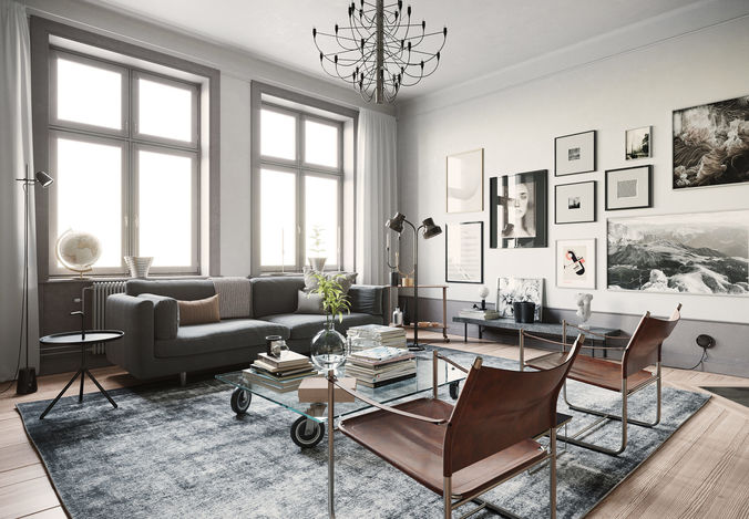 Stockholm Interior scene