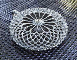 torus structure pendant 3d print model