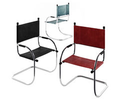 3D model Cantilever Tubechair