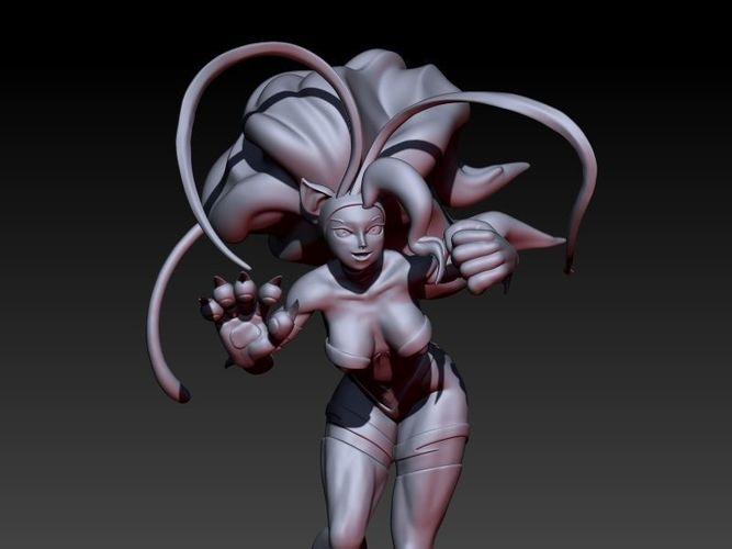 felicia rosemary from darkstalkers 3d model stl 1