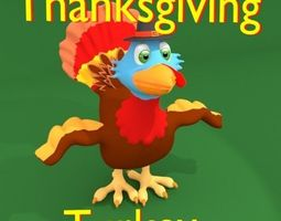 Thanksgiving Turkey 3D