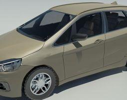 bmw 2-series active tourer 2015-h 3d model