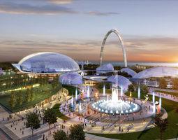 3D model Amusement Park